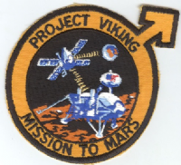 Viking Project - Mission to Mars Embroidered Patch